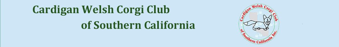 Cardigan Welsh Corgi Club of Southern California